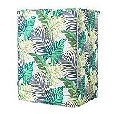 Fenteer Wasserdichte Waschmaschine Trockner Abdeckung Schutzhülle Staubschutz Sonnenschutz - Monstera Cycas Leaves-XL