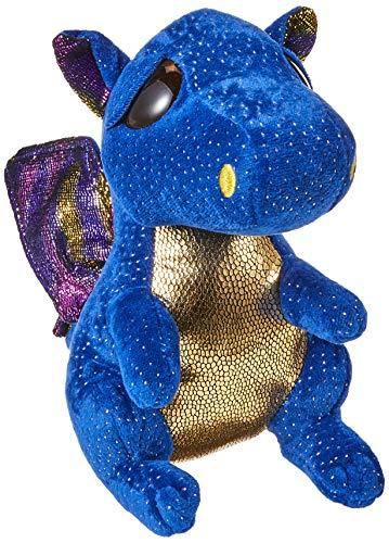"""Beanie Boo Dragon - Saffire - Blue - 24cm 9"""""""