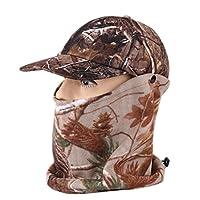 Gorro de ciclismo de cara completa de la marca Qualilty Cap, para caza, pesca, cuello cálido