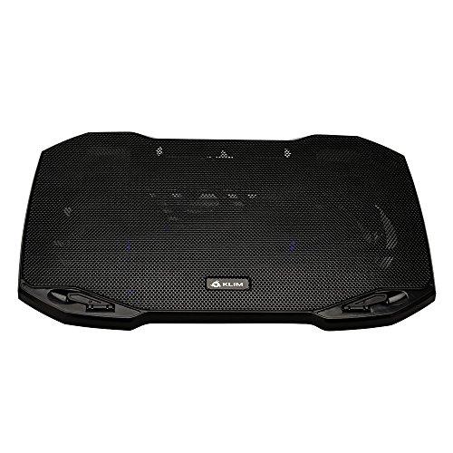 Klim Pro–Kühler für Profi–Halterung Laptop–transportabel–10'zu 15,6'–Extra Port USB