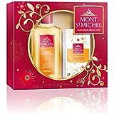 Mont Saint Michel 2 productos ámbar Colonia botella de 250 ml / 125 g Suavidad Jabón