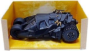 Jada Toys-Batman The Dark Knight 11689Batmobile, 98232bk, Negro, en Miniatura (Escala 1/32
