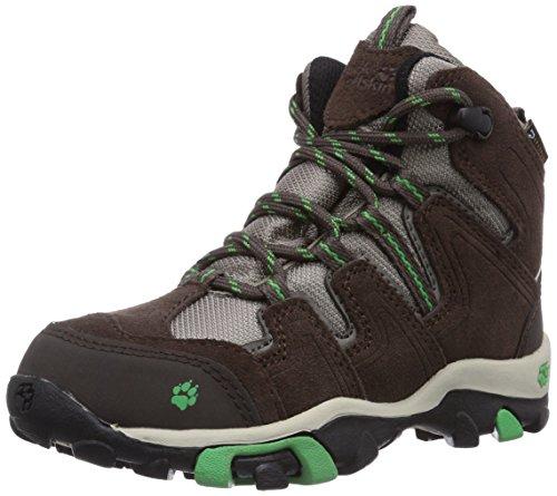 Jack Wolfskin Boys Mtn Attack Mid Texapore, Chaussures de randonnée montantes garçon