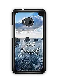YuBingo Trust Yourself Designer Mobile Case Back Cover for HTC One M7