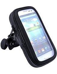 Bluelans® Handyhalterung Fahrrad , Motorrad-Halterung [360° drehbar] Handyhalter Fahrrad Tasche mit wasserdichte für iPhone 6s plus/6 plus/6S/6, Samsung Galaxy note 2, Galaxy S6 Edge, Doogee Homtom Ht6, andere 5,1 zu 5,5 Zoll Smartphone