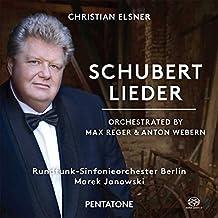 Schubert: Lieder [Orq. Webern Y Reger] / Janowski