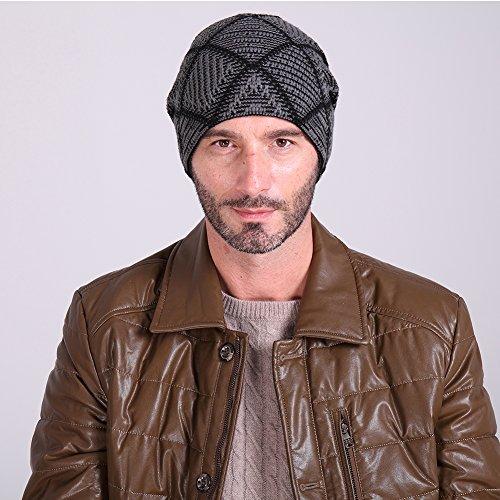 64b53c51fb iBaste Cappello Lana Invernale Unisex Berretto Uomo per Autunno e ...