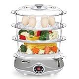 Excelvan 3 Tier Digital Compact Food Vegetables Steamer - Best Reviews Guide