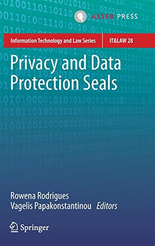Privacy and Data Protection Seals (Information Technology and Law Series, Band 28)