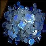 Handmade Natural Gemstone 1501CTS Natürlicher Regenbogen-Mondstein, rauer Spezial-Cabochon-Edelstein
