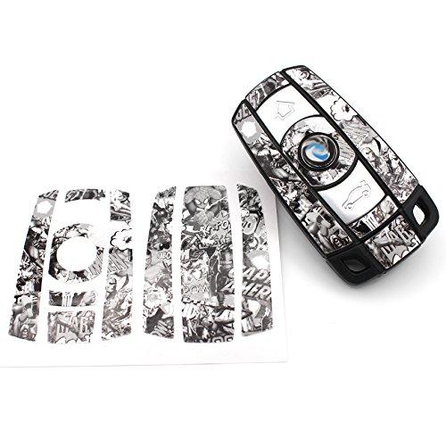 Bande dessinée Stickerbomb SW Film Décor en clé de Finest Folia BMW E81 E82 E87 E88 Z4 E89 x1 E84 M