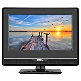 HKC 13M4 13.3 inch ( 33.68 cm) LCD Fernseher ( FHD, Triple Tuner, DVB-T2/S2/T/S/C, CI+, H.265/HEVC. 230V/12V, 12 Volt Vehicle Charger included, USB2.0, PVR/Timeshift Ready)