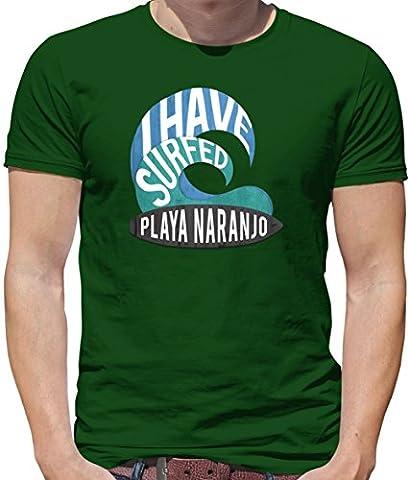 I Have Surfed PLAYA NARANJO - Mens T-Shirt - Bottle - XXXL
