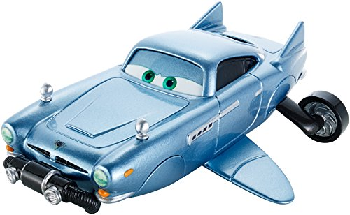 Mattel France-DHL06-Cars 2Mega Fahrzeug Finn
