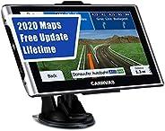LKW Navigationsgeräte für Auto CARRVAS Navigationsgerät Spracherinnerung 7 Zoll Vorinstallation UK und EU 2020