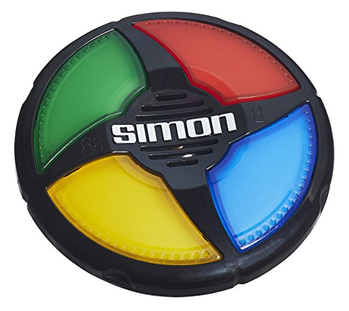 Hasbro Simon Micro Series Game - the classic colour memory game