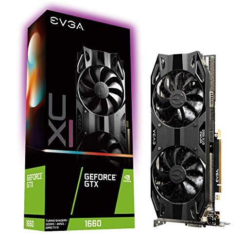 EVGA GeForce GTX 1660 XC Ultra Gaming - Tarjeta gráfica (6 GB, GDDR5, HDB Fan)