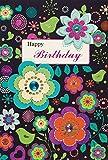 Geburtstagskarte Glückwunschkarte Geburtstag Happy Birthday Card Alles Liebe (Herzen-Pink)