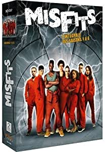 Misfits - L'intégrale des saisons 1 à 4