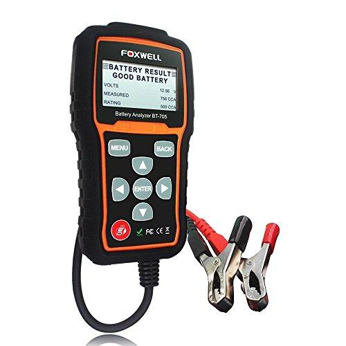 autool Foxwell bt705Akku Diagnose Auto Auto 12V Akku laden Tester Analysegerät Werkzeug mit Bluetooth Drucker