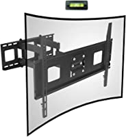 TV Wall Mount Bracket for 32-65 inch Curved TV with Max 600x400mm Wall Mount Plate VESA Size