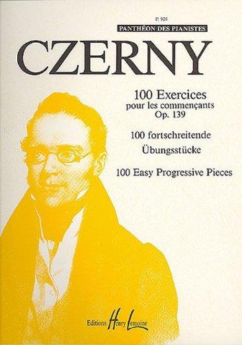 Exercices pour les commençants (100) Op.139