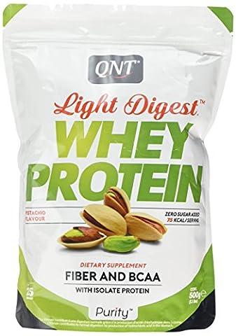 QNT Light Digest Whey Protein Supplement, 500 g, Pistachio