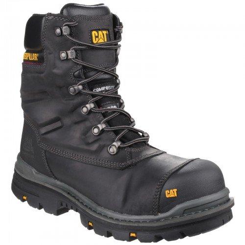 Caterpillar Premier - Chaussures de Sécurité imperméables - Adulte Mixte (43 EU) (Noir)