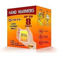 WORLD-BIO Instant Hand Warmers Provide 8 Hours Warm Winter Season for Pocket Glove Winter Warmer-10 Pairs