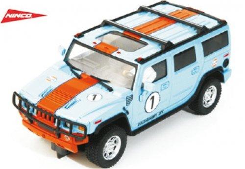 Ninco SCX Scalextric Slot 50489 Hummer H2 Gulf Nº1