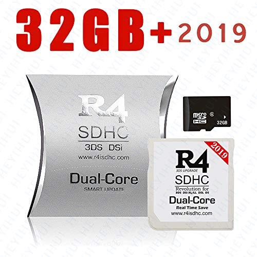 2019 SDHC dual-core + scheda SD da 32 GB per DS - DS Lite - DSi - DSi XL - 3DS - 2DS - Scarica già il kernel ES-IT-FR-DE-UK
