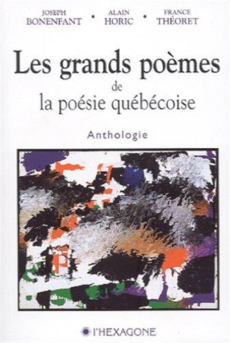 Grands poèmes de la poésie québécoise