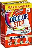 Eau Ecarlate Décolor Stop Action Complète - Lingettes Anti Décoloration - Maxi Format - 50 lingettes