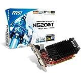 MSI N520GT-MD1GD3H/LP V263-061R NVIDIA GeForce GT520 Grafikkarte (PCI-e, 1GB GDDR3 Speicher, DVI, HDMI, 1 GPU)