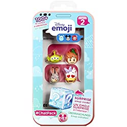 Disney Emoji 70065.4300 - Figura de la Serie Chat Pack de 5 cm