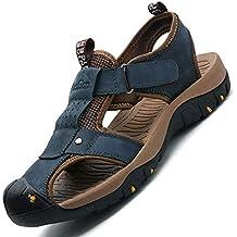 e4555dca0 YSFU Sandalias de hombre Calzado Casual De Caballero para Hombres Zapatos  De Playa De Verano para