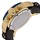 Invicta-Mens-Pro-Diver-Quartz-Watch-with-Gold-Dial-Chronograph-Display-and-Multicolour-PU-Strap-17887