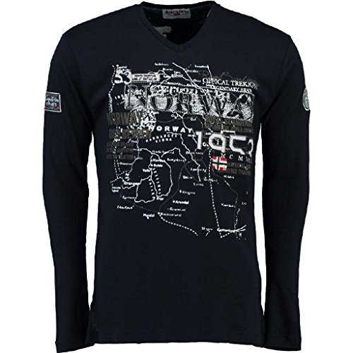 Geographical Norway Langarmshirt Jagatel For Men | in Versch. Farben und  Größen Marine