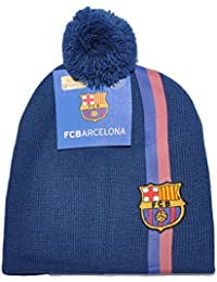 5d8d5289e17 Official Licensed FC Barcelona Embroidered Winter Hat Cap For Boys Girls