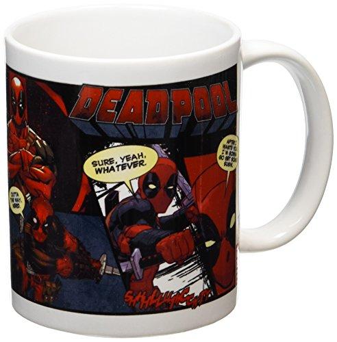 "Pyramid International""Deadpool (Comic)"" Official Boxed Ceramic Coffee/Tea Mug, Multi-Colour, 11 oz/315 ml"