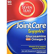 Seven Seas JointCare Supplex with Glucosamine plus Omega-3, 90 Capsules