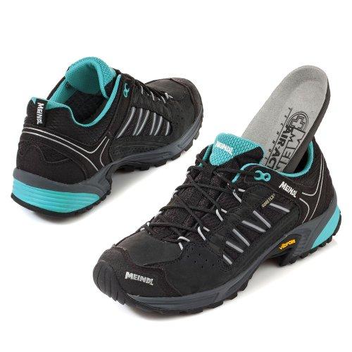 Meindl Schuhe SX 1.1 Lady GTX - schwarz/petrol 39 1/3
