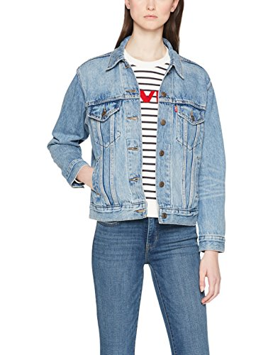 Levi's ex-friend trucker, giacca in jeans donna, blu (indigo anthem 0025), small