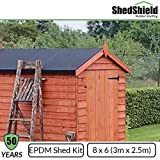 Rubber Roofing | Flat Roof | EPDM Rubber Membrane | Shed Felt |