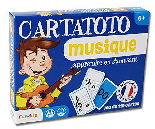Jeu de 110 cartes : Cartatoto Musique