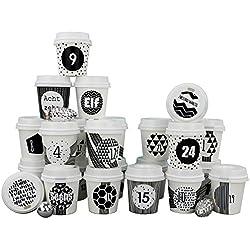 Tazas para colorear- 24 Tazas de café
