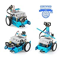 Makeblock mBot Add-on Pack Servo Pack, Robot 3-in-1 add-on pack, 3 Cats 3 Forms, Dancing Cat/Head-Shaking Cat/Light-Emitting Cat
