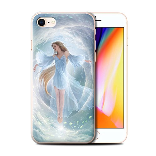 Offiziell Elena Dudina Hülle / Case für Apple iPhone 8 / Meer Kleid Muster / Fantasie Engel Kollektion Air-Kleid