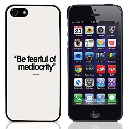 """Graphic4You """"Expect Nothing..."""" Life Proverb Zitat Design Harte Hülle Case Tasche Schutzhülle für Apple iPhone 5 und 5S Design #5"""