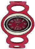ZAZA London LLB864/4 - Reloj para mujeres, correa de plástico color rosa